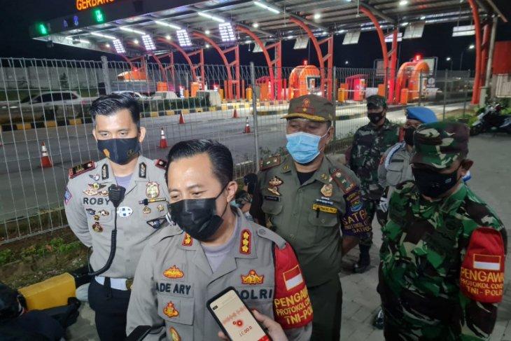 Polresta Tangerang siaga di perbatasan antisipasi demo ke Jakarta