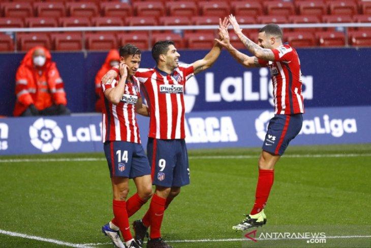 Liga Spanyol: Suarez borong dua gol saat Atletico kalahkan Elche