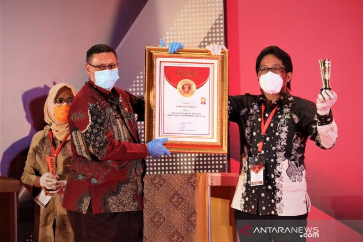 Badung raih penghargaan Kabupaten Sangat Inovatif IGA 2020 dari Kemendagri