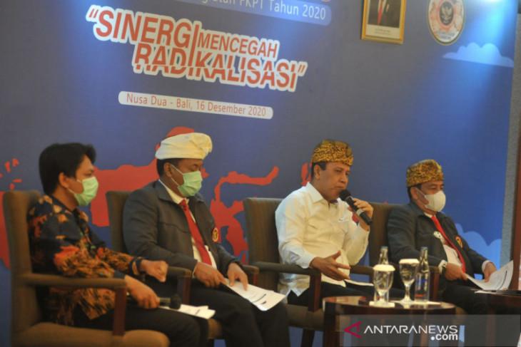 Tim Peneliti BNPT sampaikan hasil survei nasional penangkalan radikalisme