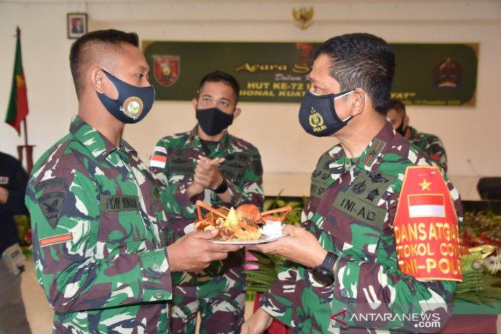 Syukuran Hari Infanteri ke 72 Ala Korem 091/ASN