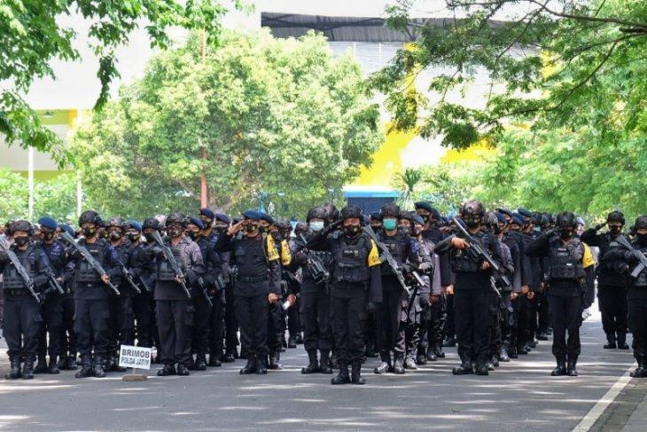 Polisi terjunkan 2.325 personel jaga pilkades serentak di Sidoarjo