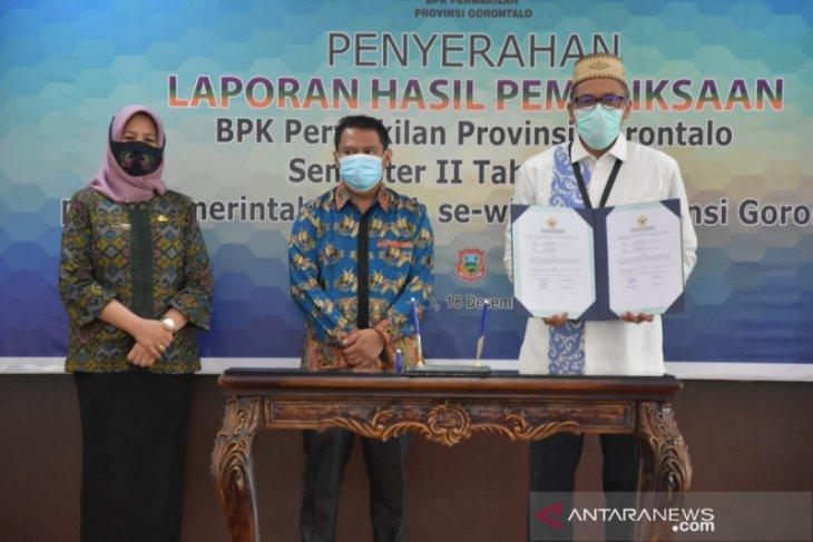 Pemkab Gorontalo terima LHP kinerja penanganan pandemi COVID-19 dari BPK