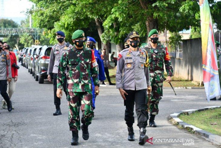 Danrem 133 Gorontalo sebut prajurit Infanteri bersama rakyat jaga NKRI