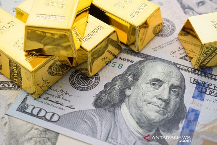 Emas melambung 26,3 dolar, fokus beralih ke pemerintahan Biden