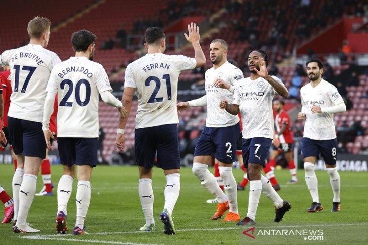 Liga Inggris: Raheem Sterling bawa Manchester City taklukkan Southampton
