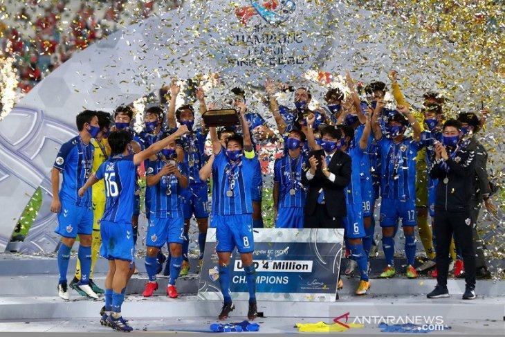 Ulsan Hyundai juara Liga Champions Asia