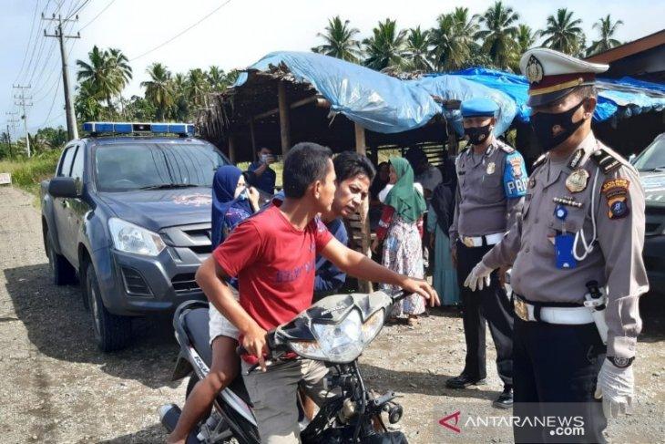 Penerapan disiplin dan penegakan hukum Prokes di Wilayah Polres Tapsel