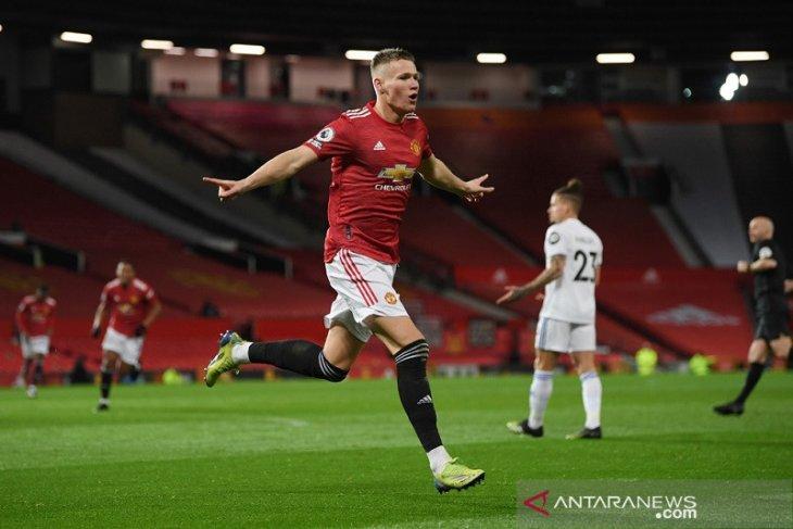 Manchester United menyodok tiga besar klasemen Liga Inggris