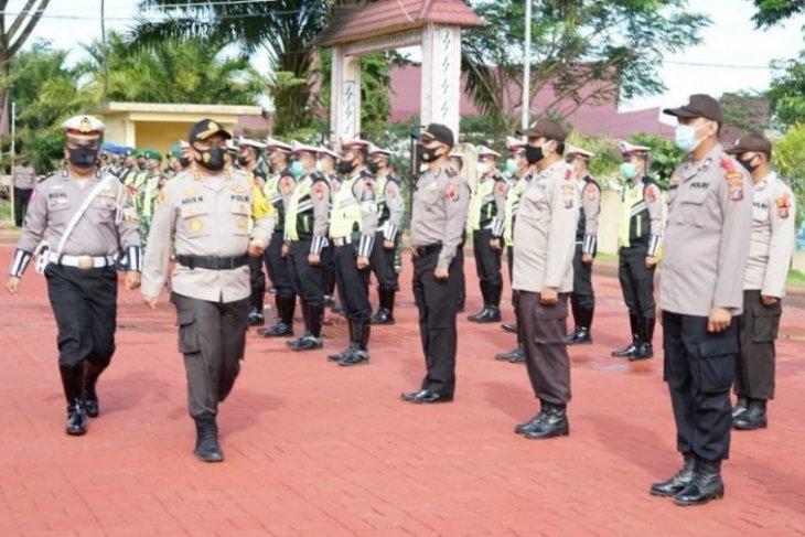 Polres Simalungun gelar pasukan Operasi Lilin Toba 2020