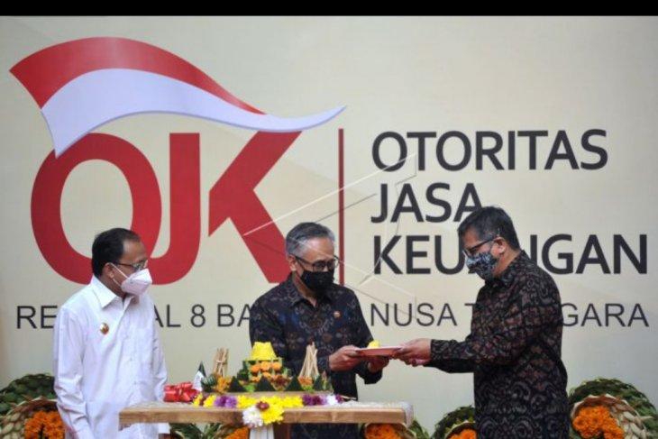 Peresmian gedung OJK Regional 8 di Bali
