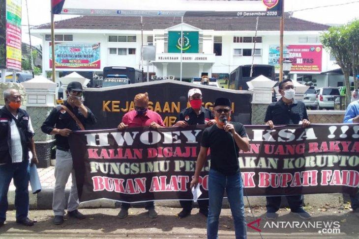 Gerakan Reformasi Jember desak Kejari tak