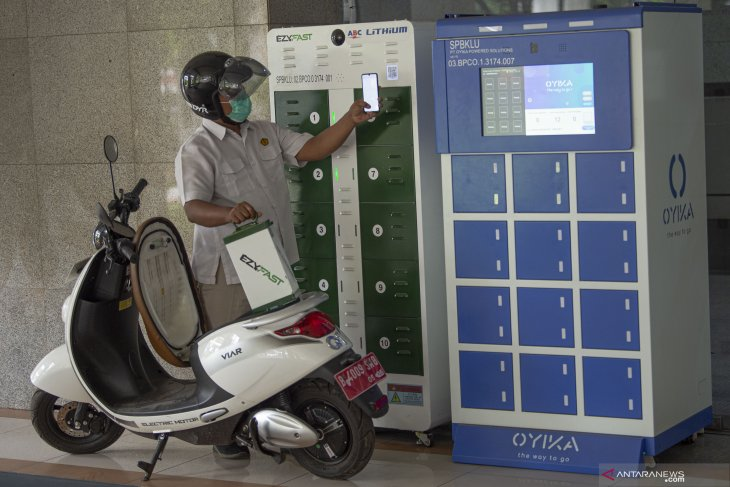 Pertamina siapkan  produksi baterai listrik untuk sepeda motor