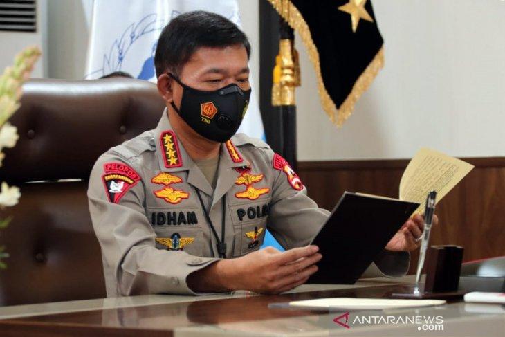 Jelang pensiun, Kapolri Idham surati Presiden tunjuk pengganti dirinya