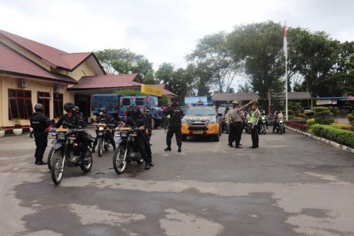 Polisi dan TNI patroli skala besar antisipasi gangguan keamanan