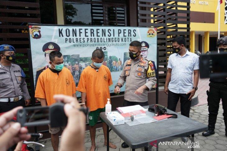 Dua pelaku pelemparan bom bondet di PN Kota Probolinggo ditangkap polisi
