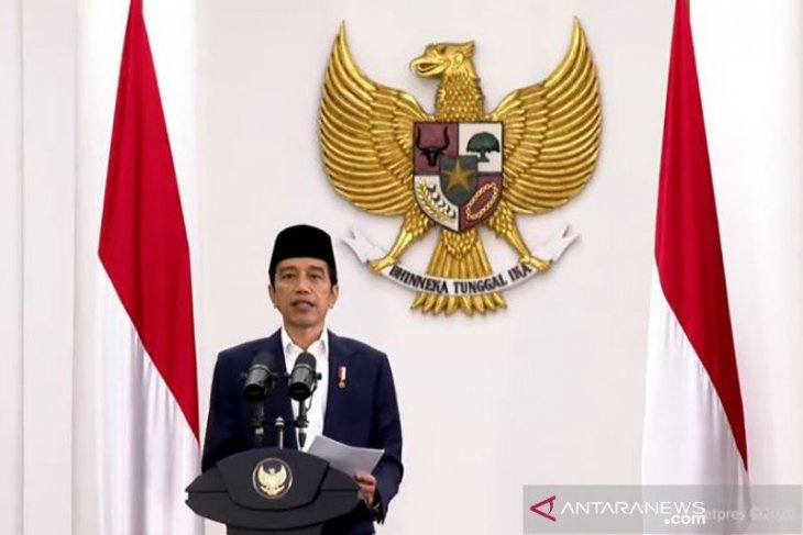 Presiden Jokowi melantik Kepala BRGM Hartono Prawiraatmadja
