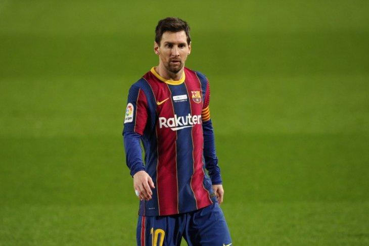Lionel Messi ragu dengan masa depannya di Barcelona