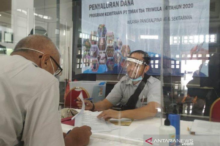 PT Timah salurkan Rp1,290 miliar bantu nelayan tradisional Babel