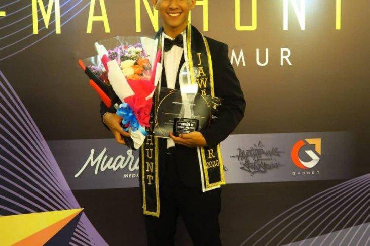 Pemuda asal Balangan raih gelar runner-up Manhunt Jatim 2020