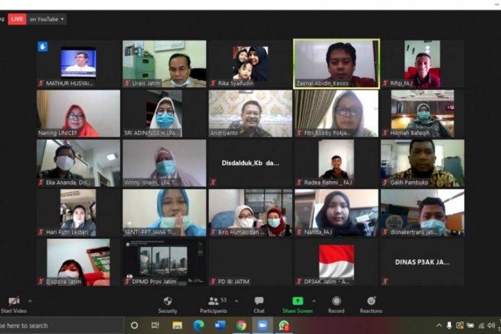 Layanan perlindungan anak di Jawa Timur perlu dikembangkan