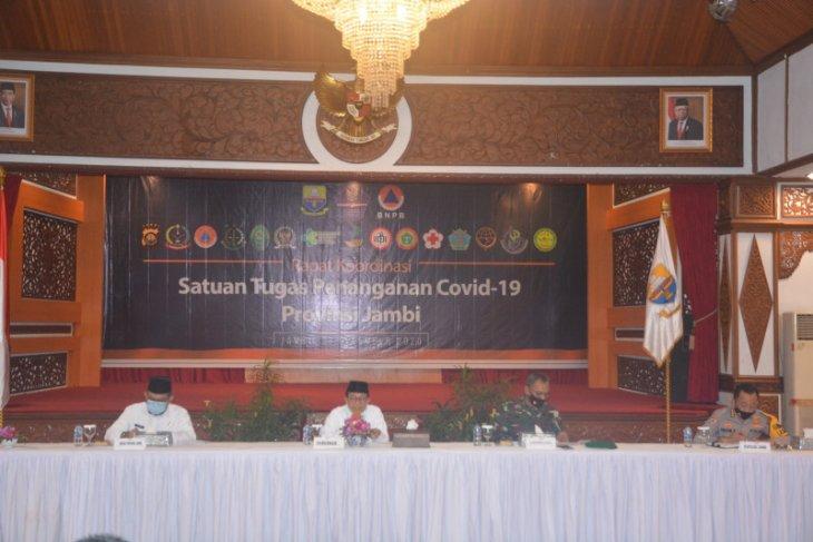 Antisipasi lonjakan COVID-19, Satgas Provinsi Jambi larang kerumunan saat libur Natal dan tahun baru