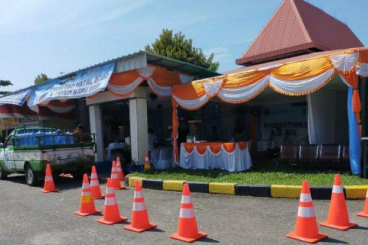 Dishub Babel dirikan Posko Nataru di Pelabuhan Tanjung Kalian Muntok