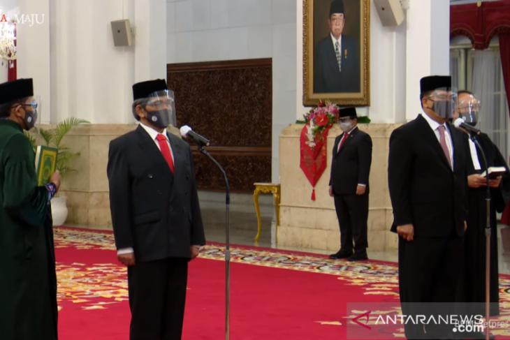 Kapolri pimpin upacara kenaikan pangkat Kepala BNN menjadi Komjen