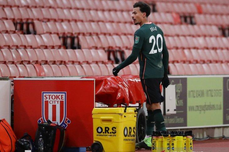Mourinho kesal pada Dele Alli usai lakukan blunder lawan  Stoke