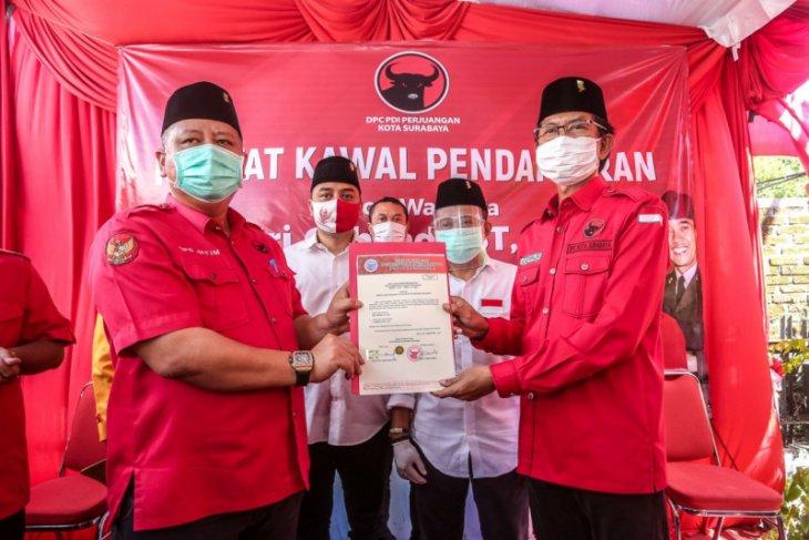 Gubernur Jatim  tunjuk Whisnu Sakti Buana Plt Wali Kota Surabaya