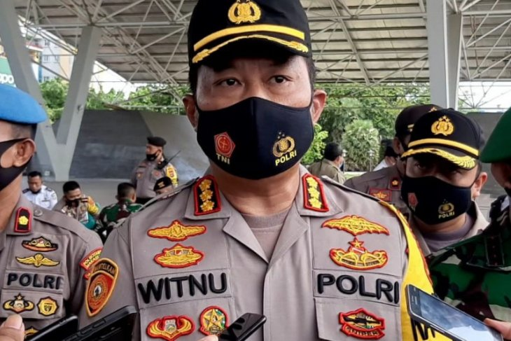Polisi bubarkan acara HUT produk kecantikan karena timbulkan kerumunan