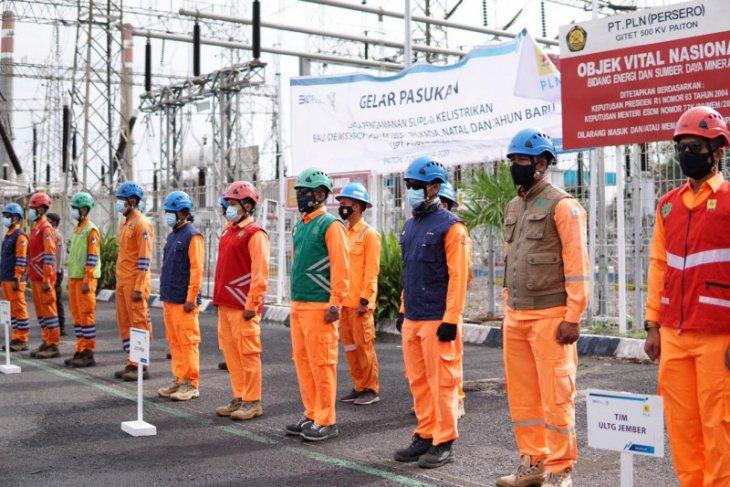 Sebanyak 1.388 petugas PLN Jatim siap amankan pasokan listrik Tahun Baru 2021