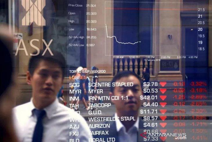 Penambang mendorong saham Australia menguat jelang putusan bank sentral