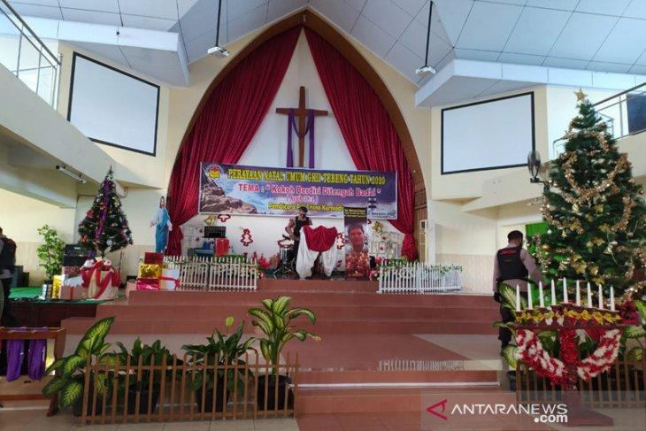 Gereja di Bengkulu rayakan natal secara daring