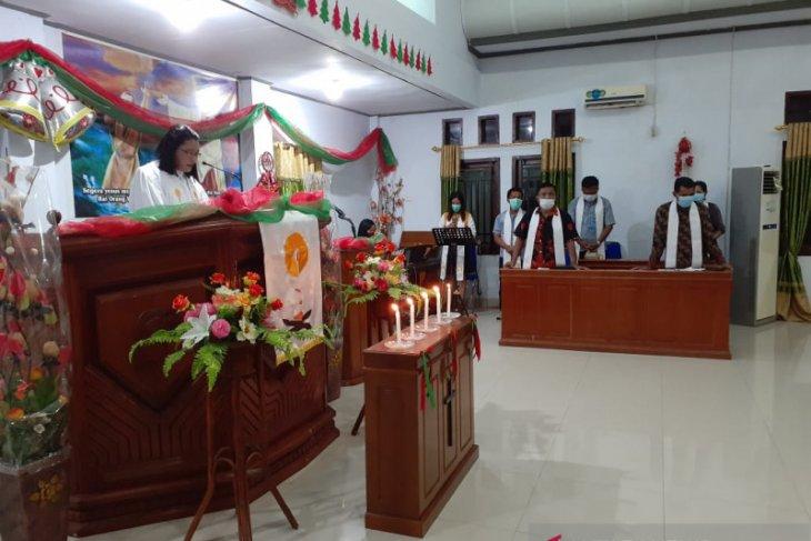 Kebaktian malam Natal di Gorontalo Utara lancar kondusif