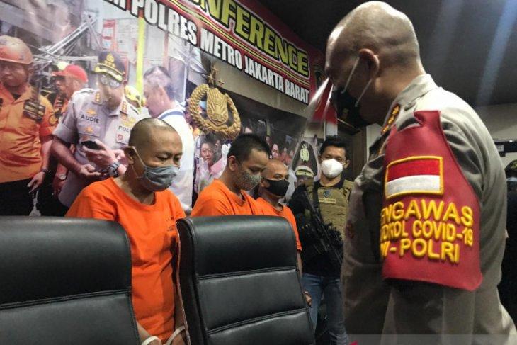 Polres Metro bekuk pria terlibat kekerasan seksual terhadap anak kandung