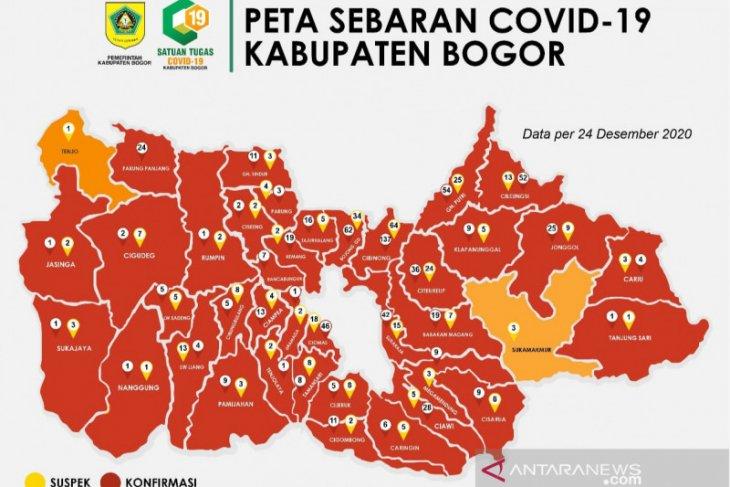 Satgas COVID-19 Bogor tetapkan sebagai Kawasan Puncak zona merah COVID-19