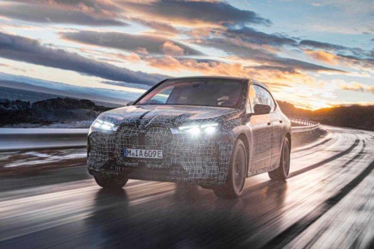 Mobil listrik BMW iX bakal rilis akhir 2021