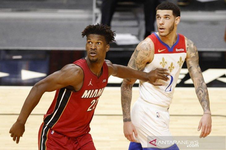 Heat taklukkan Pelicans 111-98
