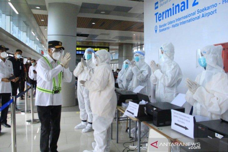 Menhub apresiasi  tes COVID di Bandara Soekarno-Hatta