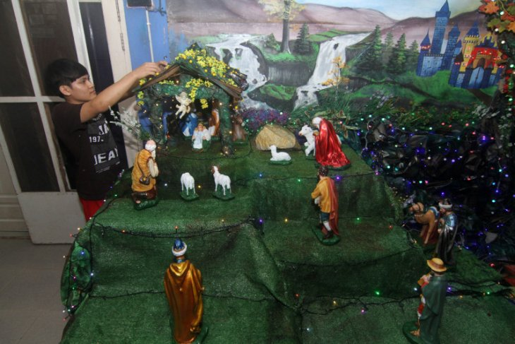 Gua Natal penyemarak hari kelahiran Juruselamat