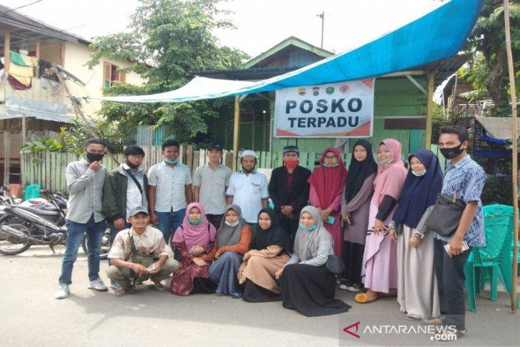 Serma Tapsel dan IPMA Luat Harangan Sipirok bantu korban kebakaran Padang Sidempuan