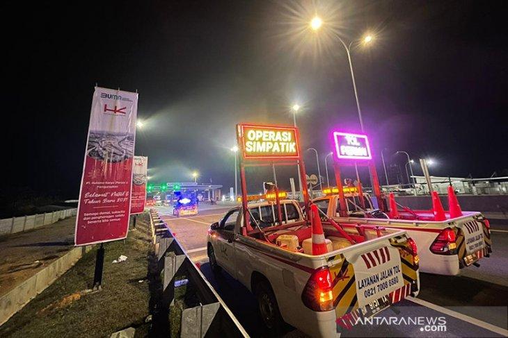 Sejak beroperasi 35 kasus lakalantas terjadi di Tol Pekanbaru-Dumai
