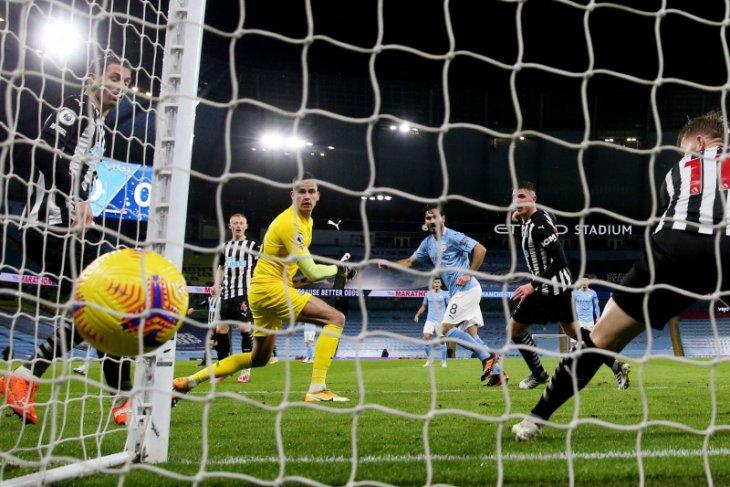 Man City naik ke posisi lima setelah gebuk Newcastle 2-0