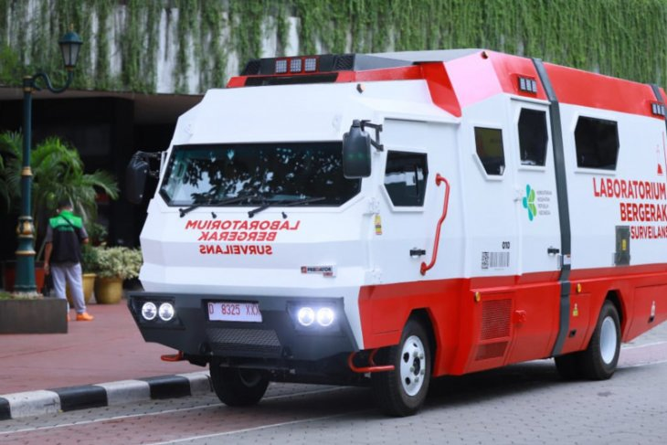 Mobile  lab BSL-2 ready for COVID-19 testing in provinces