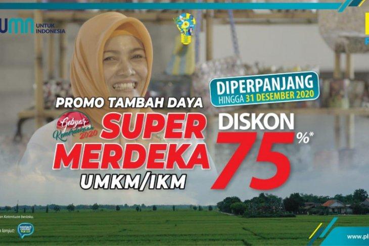 586 UMKM di Maluku dan Malut  manfaatkan program diskon tambah daya super merdeka