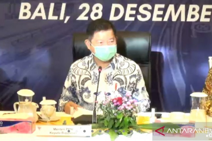 Suharso Monoarfa proyeksikan pembangunan IKN setelah vaksinasi