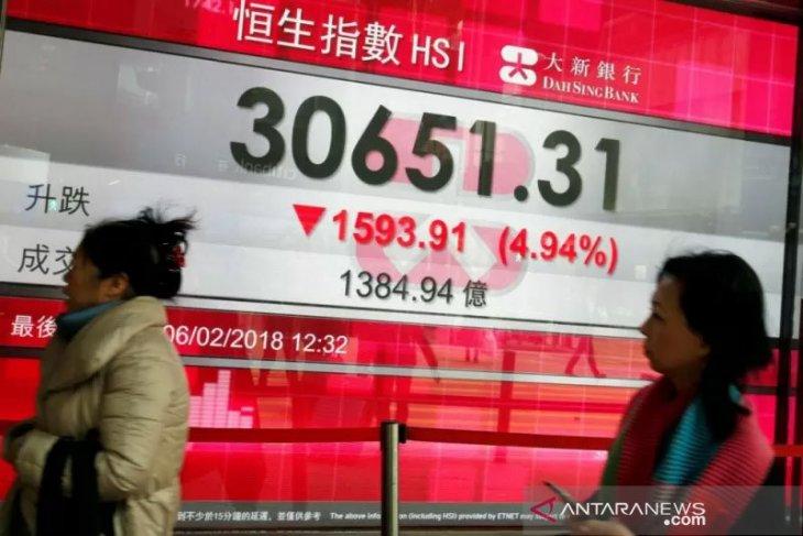 Saham Hong Kong dibuka menguat, indeks HSI turun 0,78 persen
