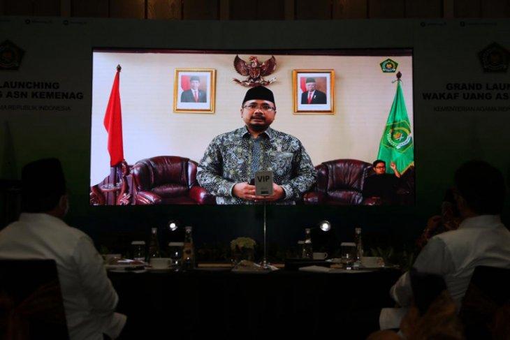Menteri Agama rilis Gerakan Wakaf Uang