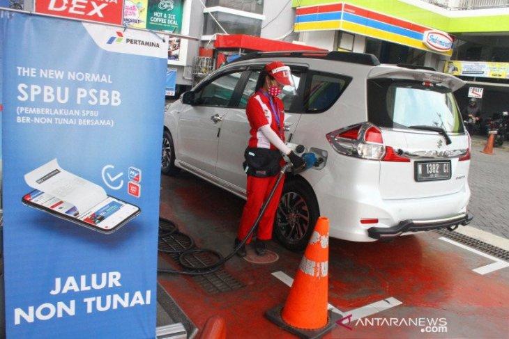 Pertamina  resmi terapkan digitalisasi di 5.518 SPBU seluruh Indonesia